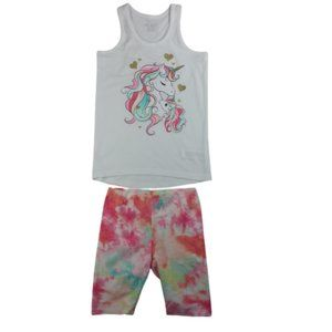 Childrens Place 2 Pcs Set Tank & Short Girls
